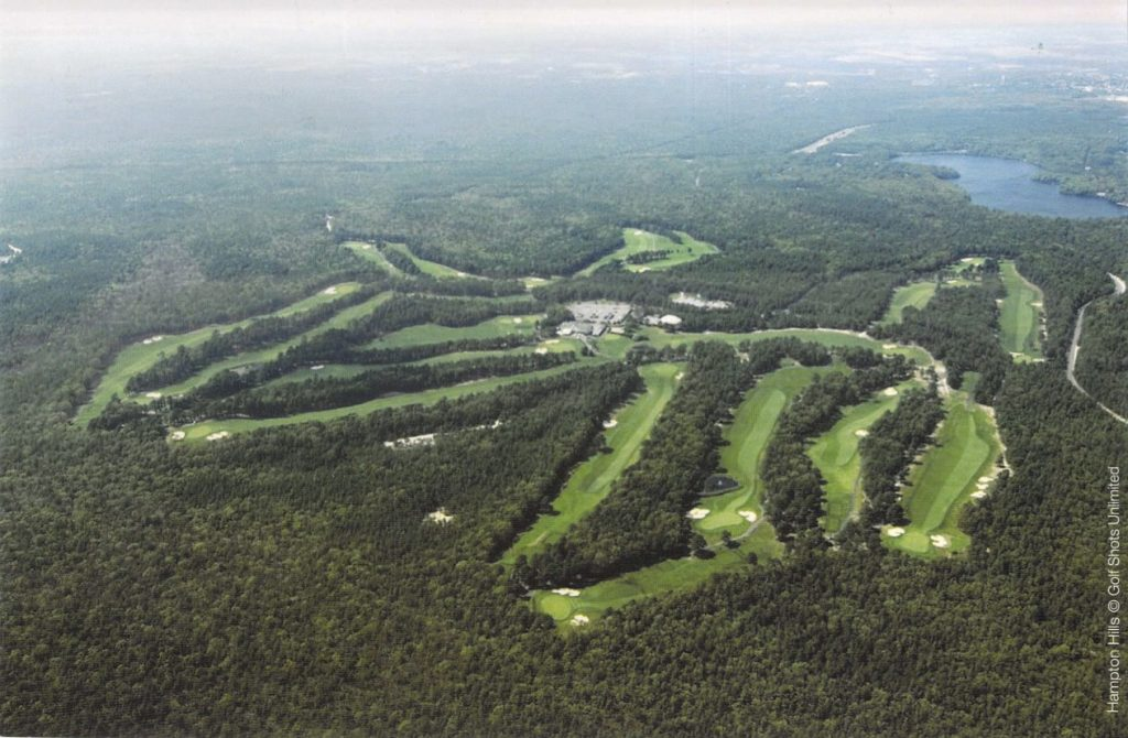 Hampton Hills Golf and Country Club - Overhead view of the course